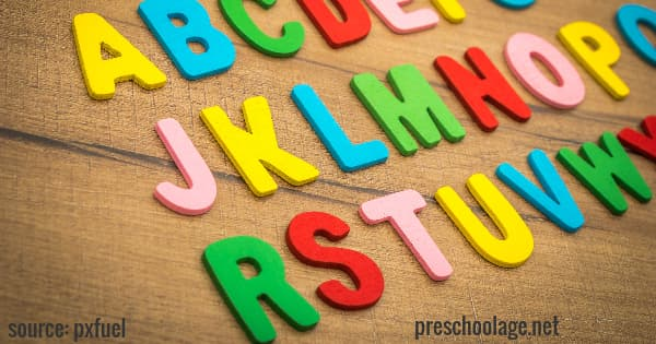 ABC learning for kids. teach the alphabet for kindergarten.