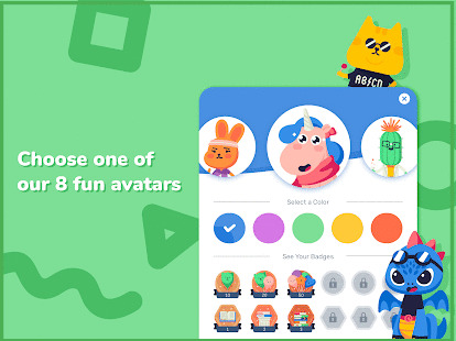 Rivet read along app avatars