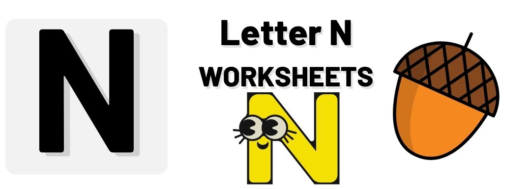 letter n worksheets